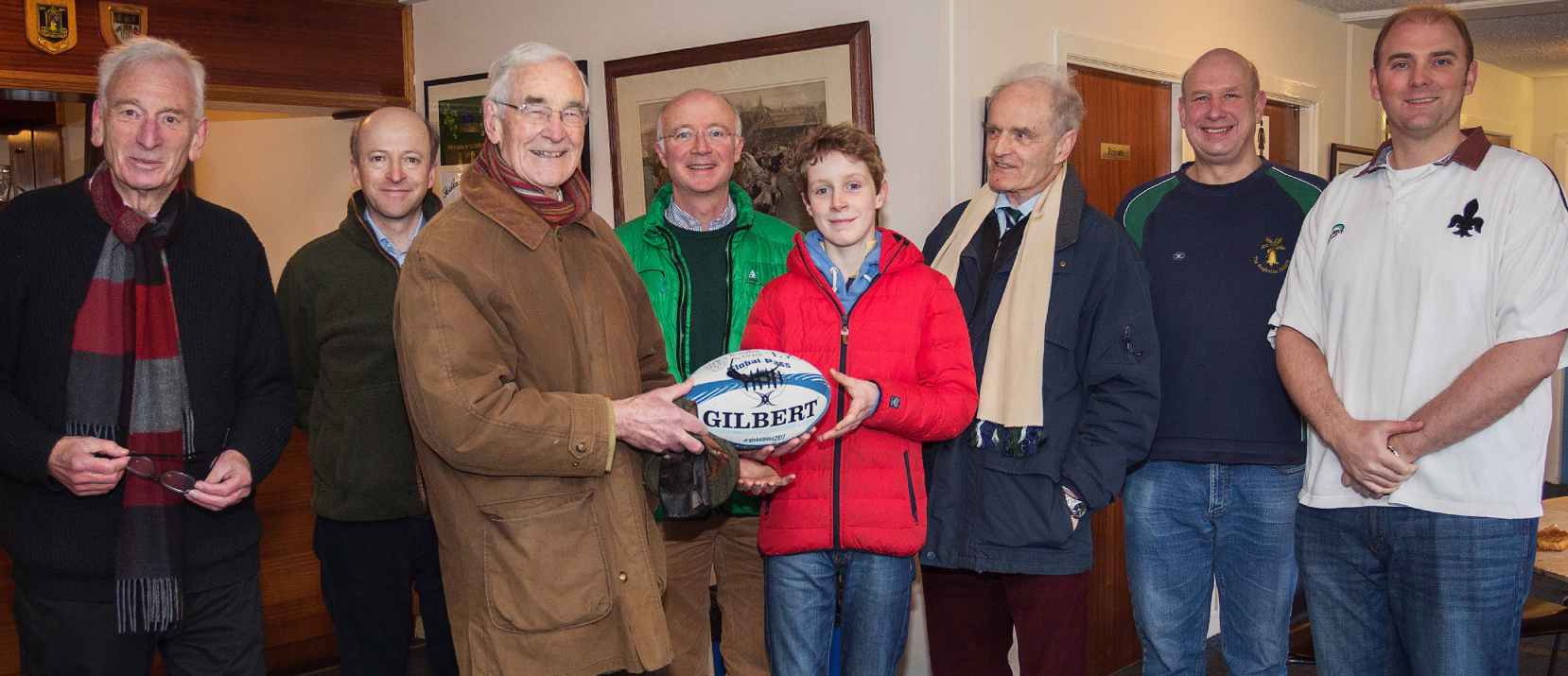 Rugbeians at Raeburn Place for Rugby School's 450th anniversary
